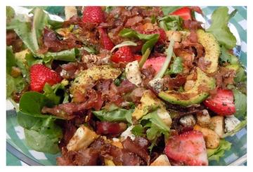 Biltong & Strawberry Salad